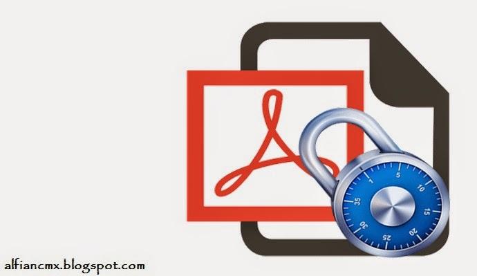 Cara memberi Password Pada File PDF