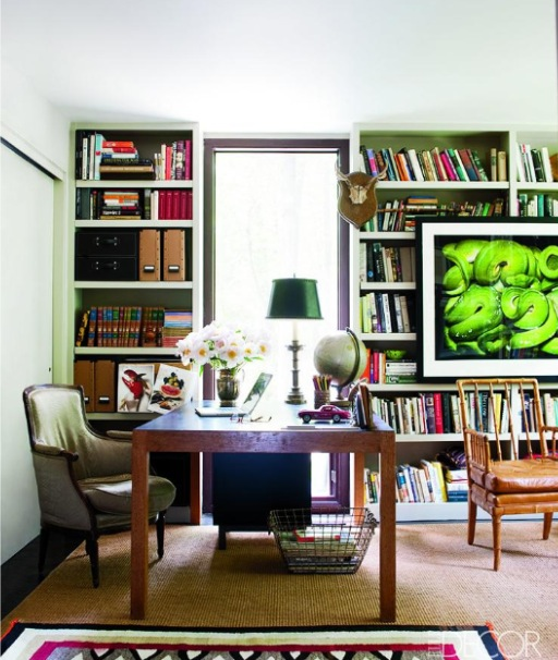 Art on cabinet