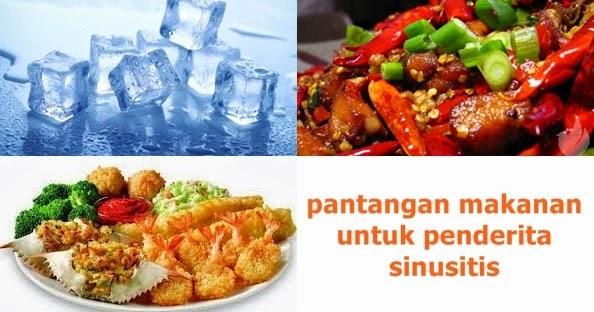 Pantangan Makanan Untuk Penderita Sinusitis ~ Pantangan ...