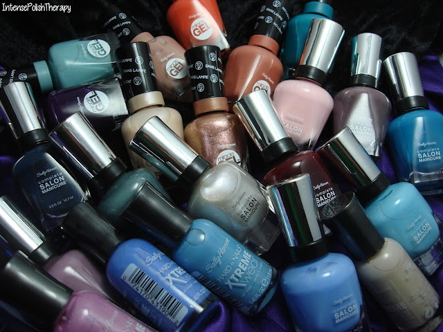 New Launches from Sally Hansen   Complete Salon Manicure - Miracle Gel - Xtreme Wear