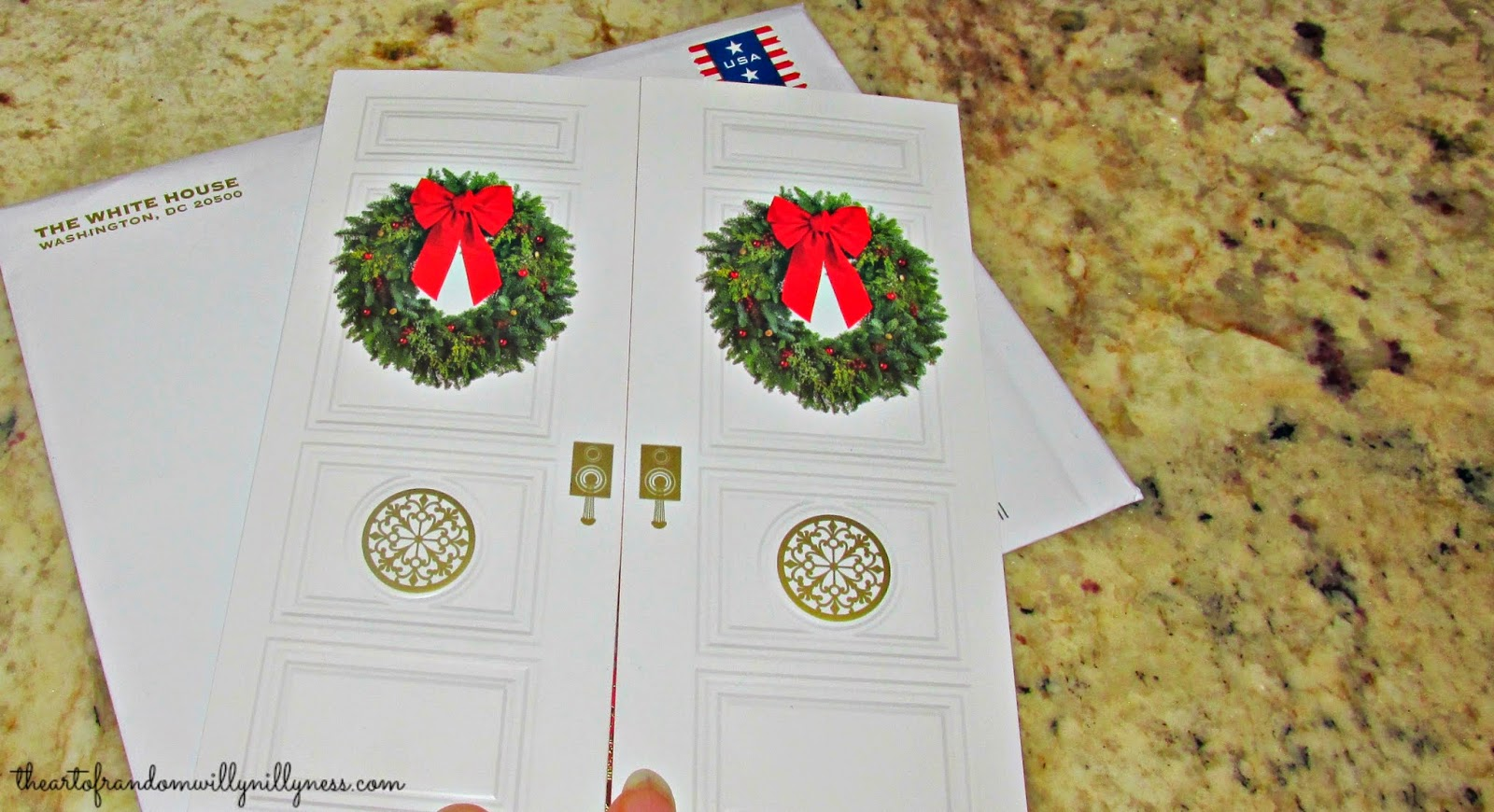 Carolyn in Carolina: 2014 White House Christmas Card