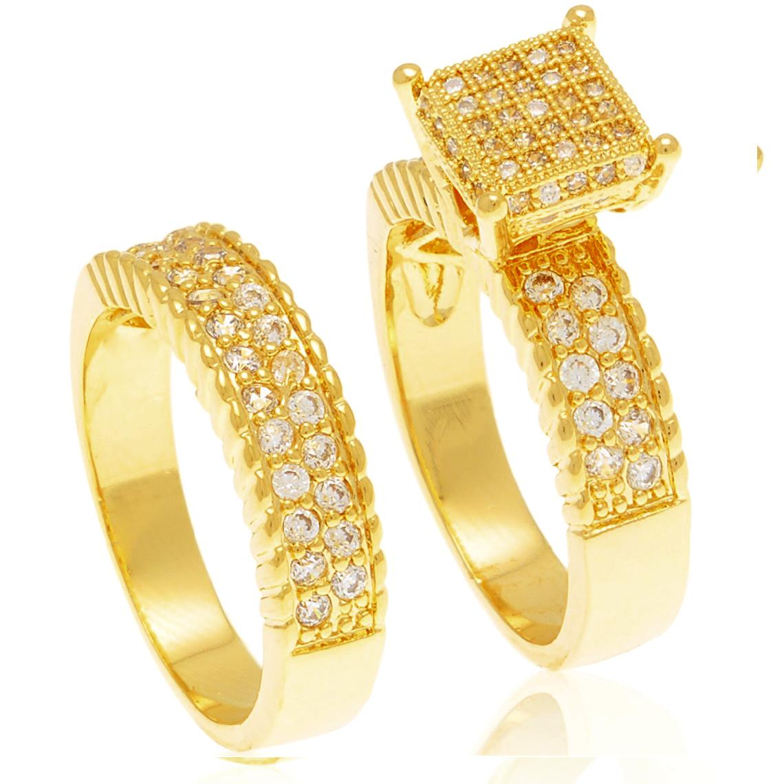 alianças folheada a ouro - Alianças e Anéis Rakuten ca28f428d8