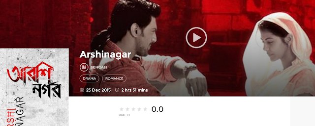 Arshinagar (2015) Bengali Full DvDRip Movie Free 300Mb