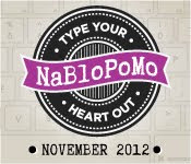 NaBlogPoMo