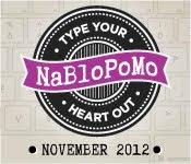 NaBlogPoMo