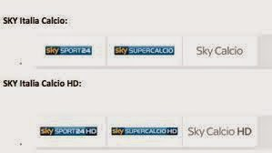 sky calcio italy + uk HD sport