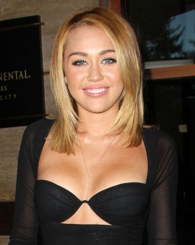 hollywood miley cyrus blonde hair