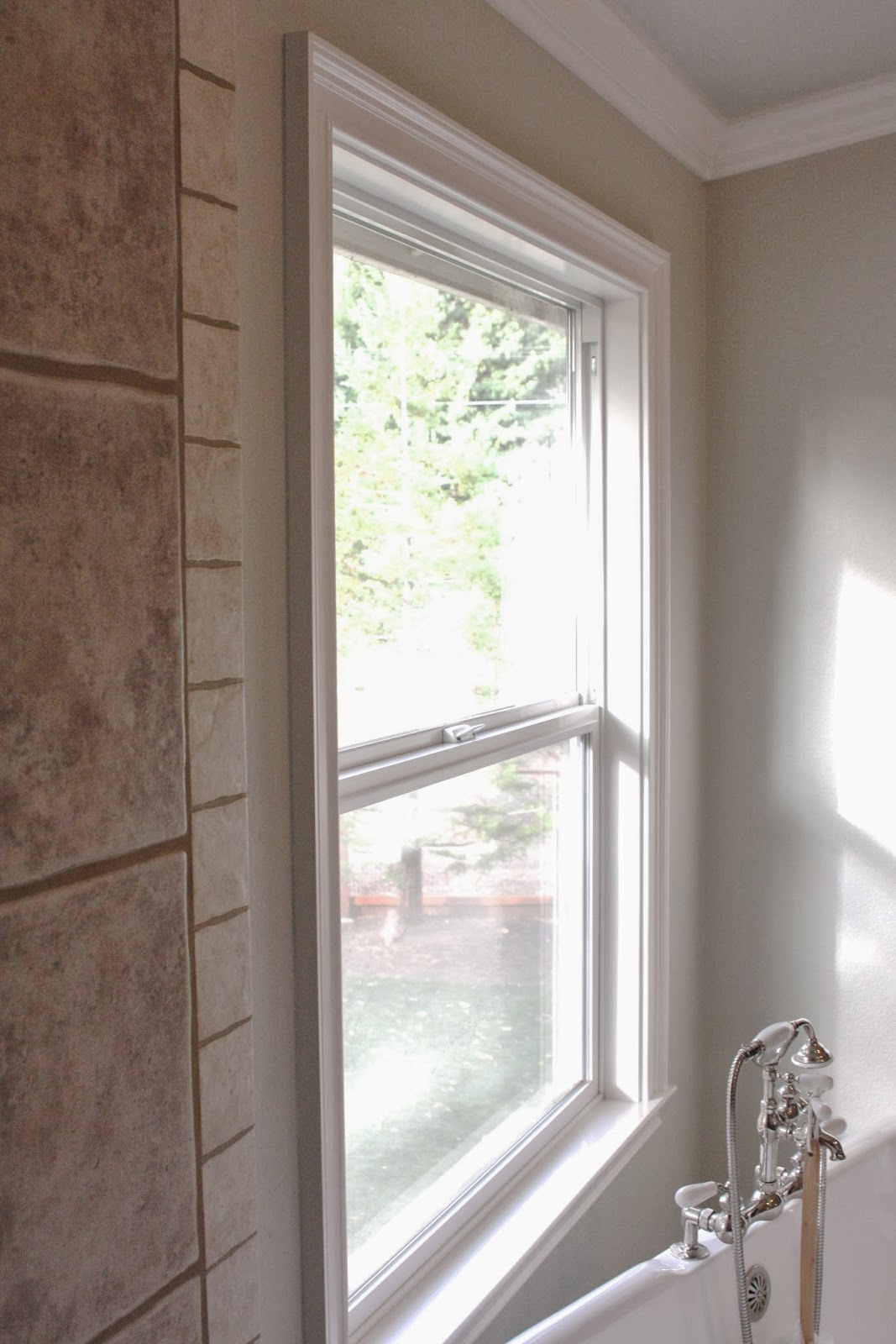 The Previous Owners Had Thin, White Sheers Hanging As A Window Covering. I  Took The Sheers Down During The Painting Process And Didnu0027t Put Them Back  Because ...