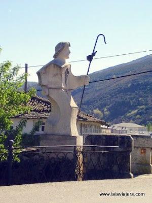 Alegoria Peregrino Jacobeo, Villafranca Bierzo