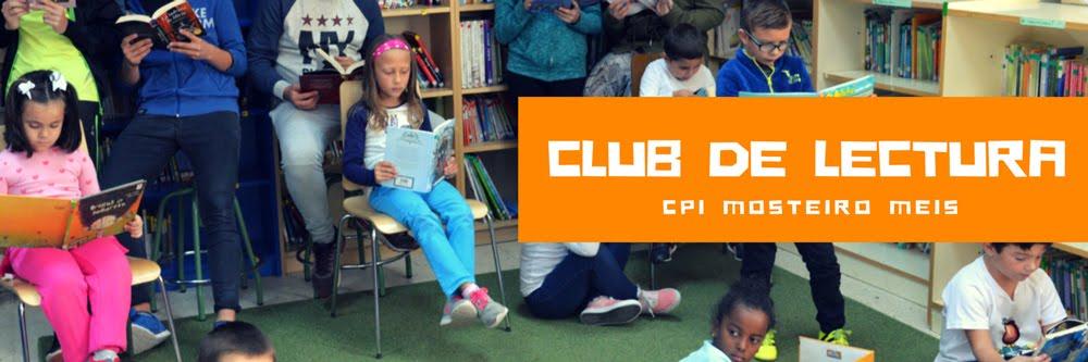 Club de lectura do CPI Mosteiro Meis