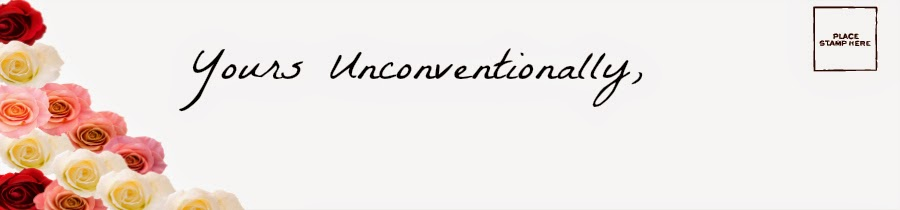 Yours unconventionally,
