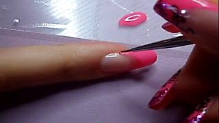 Manikir-obuka-tutorijal-4-(pink-french-manikir-sa-arabeskama)-007