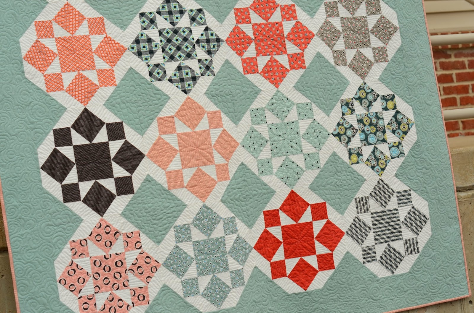 WIP Wednesday: With Guest Host Cindy from Hyacinth Quilt Designs ... : hyacinth quilt designs - Adamdwight.com