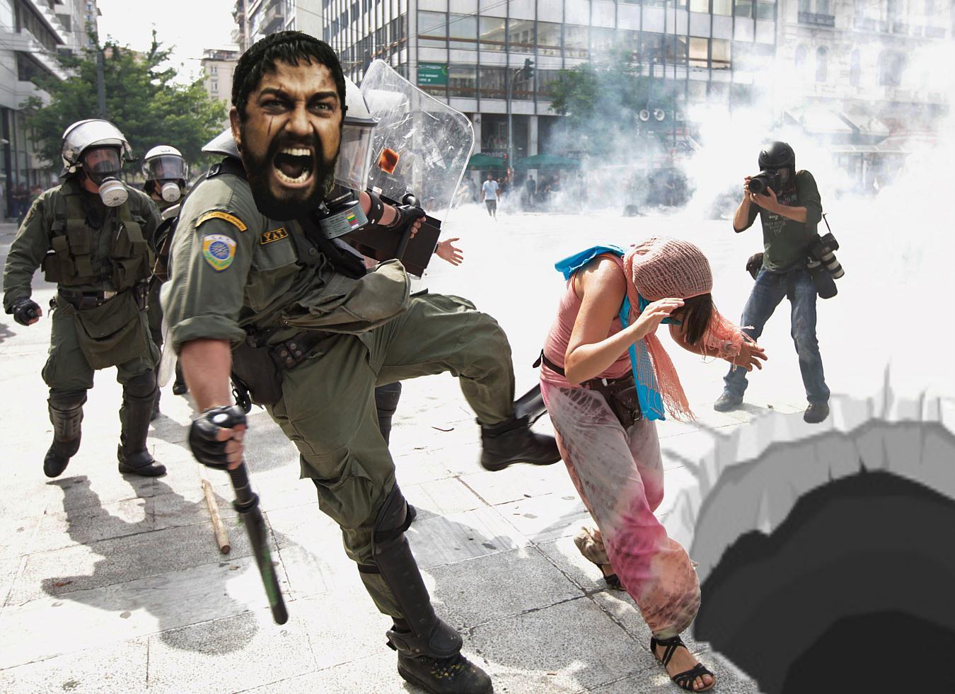 The Ukrainian Sparta Kick