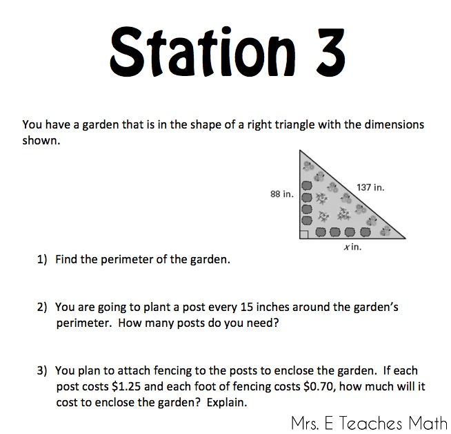 Worksheets Right Triangle Word Problems Worksheet right triangles unit mrs e teaches math a peek inside of my planning freebies included mrseteachesmath
