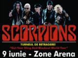Poster Scorpions Bucuresti 2011