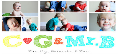 C, G & Mr. B: Family, Friends & Fun