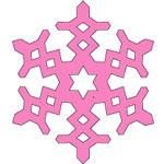 Origami Kristal Salju 3
