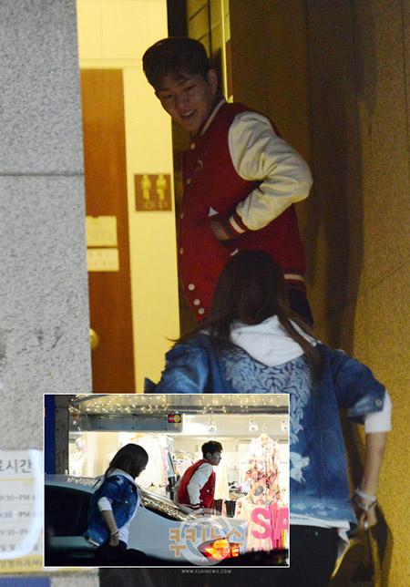 หรือว่าลีดเดอร์วง SHINee และ After School กำลังคบหากันอยู่ ???