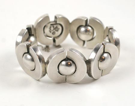 Antonio Pineda silver bracelet c.1950s