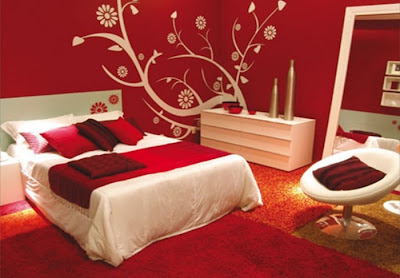 Red Bedroom Design Ideas (Simple and Luxury) ~ Interior Exterior