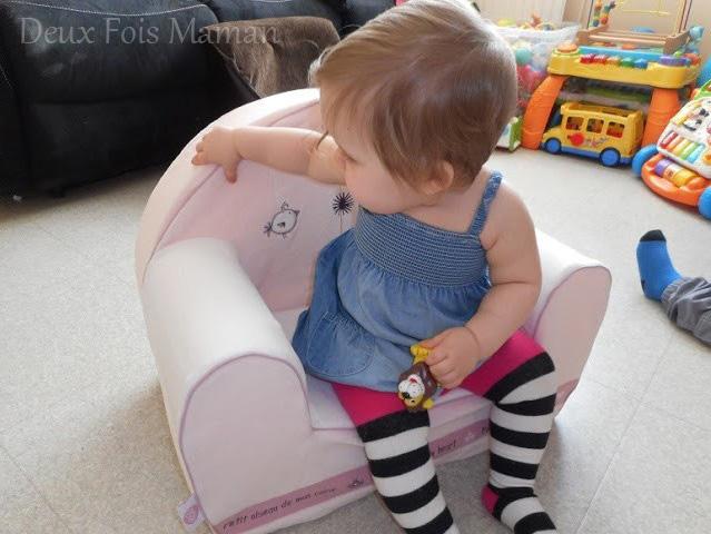 avis petit fauteuil babycalin