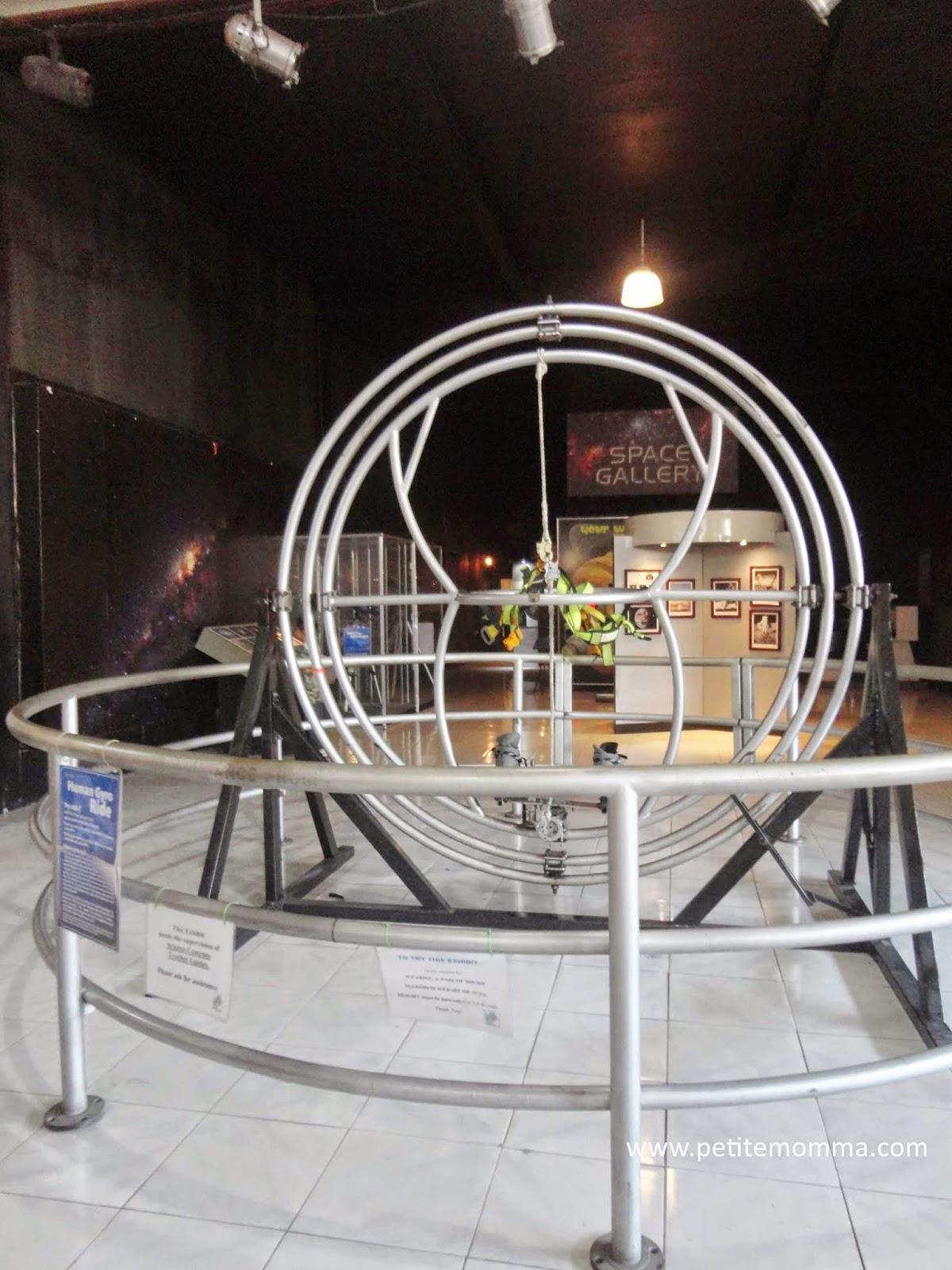 human gyro ride