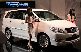 Mobil Kijang Innova Baru 2012