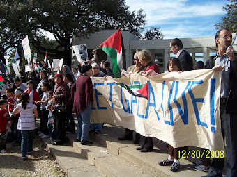 Interfaith Solidarity; standing up for the Gazans and the Israelis.