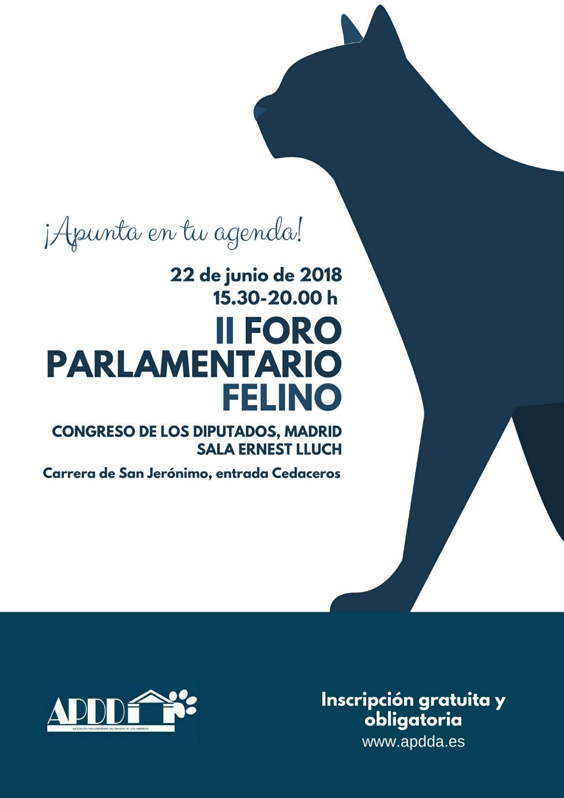 Inscripción - FORO FELINO II