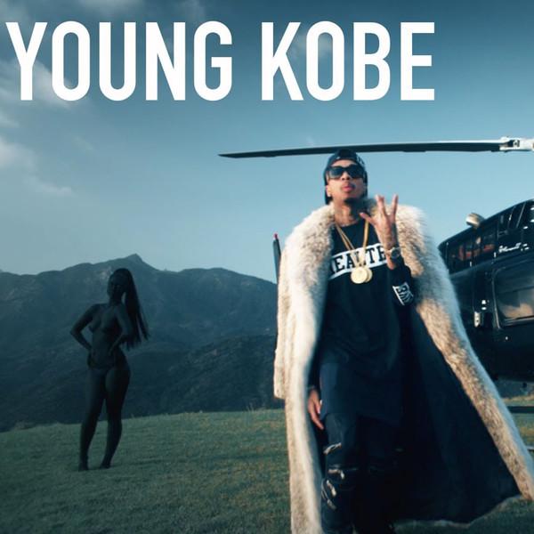 Tyga - Young Kobe - Single  Cover