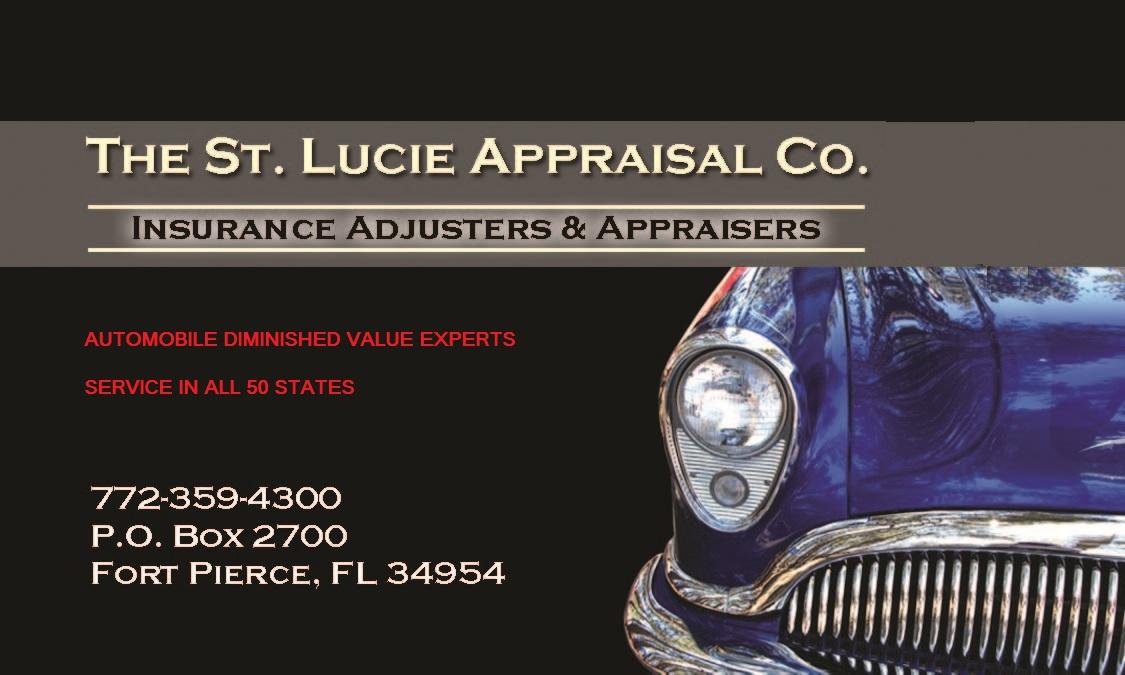 AUTOMOBILE DIMINISHED VALUE APPRAISERS: VERMONT AUTOMOBILE ...