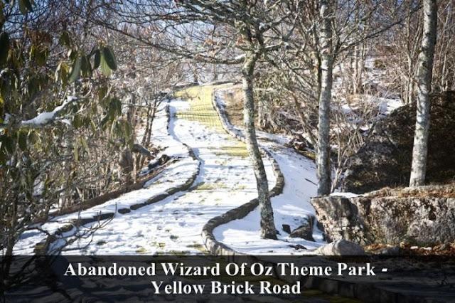 wizard of oz theme parl, yellow brick road