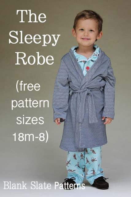 Sleepy Robe Free Sewing Pattern