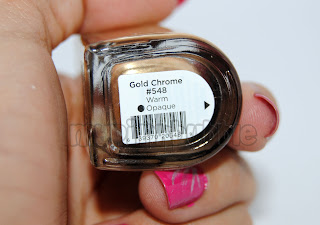 CND Gold Chrome