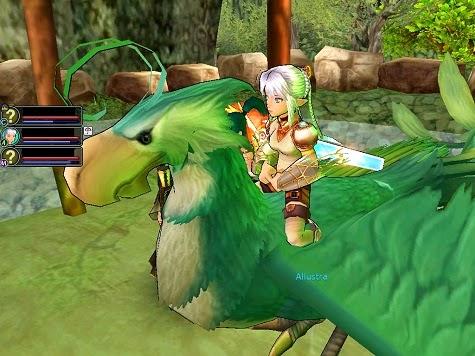 MMORPG Flying mounts