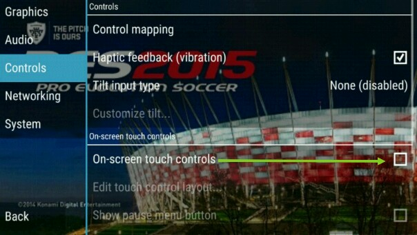 Control PPSSPP