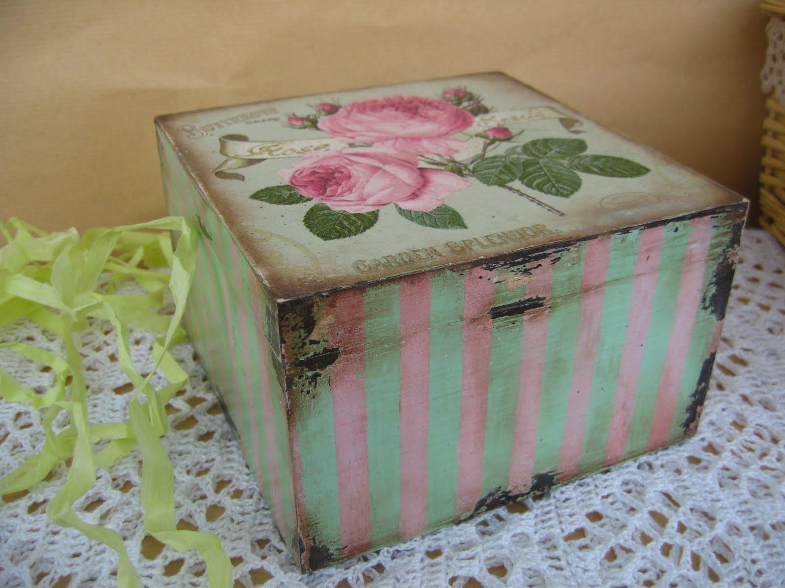 Коробка для чая в пакетиках своими руками 92