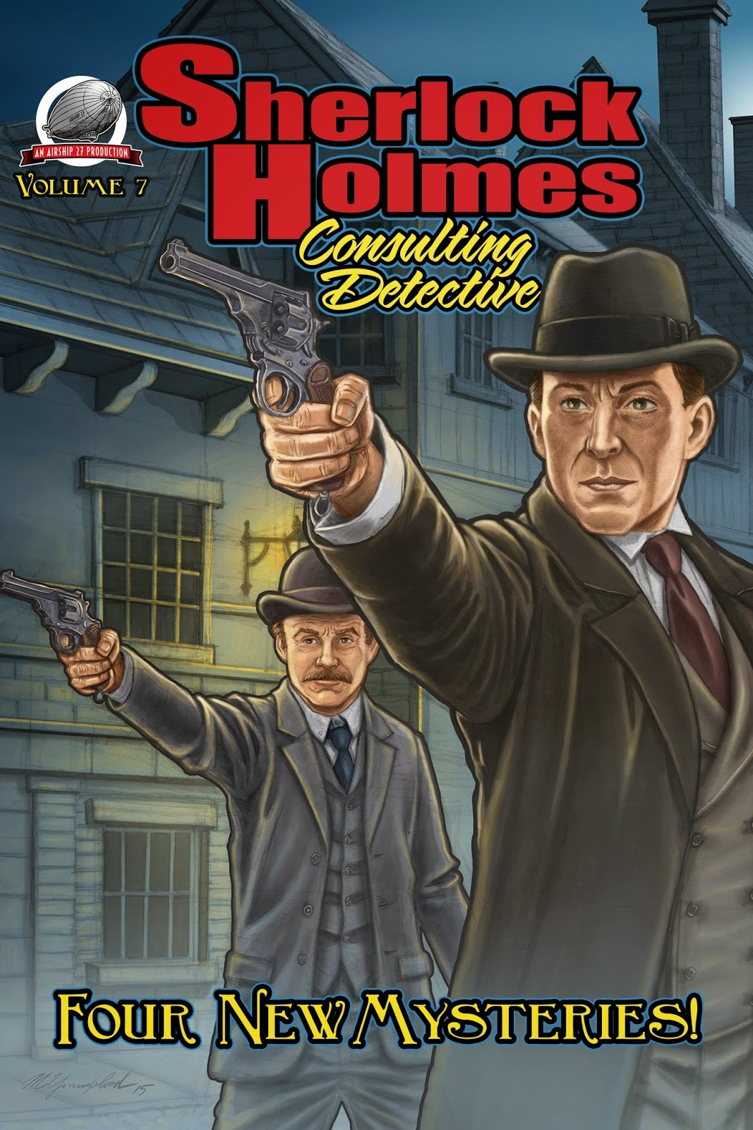 THE PULP FACTORY: SHERLCOCK HOLMES - CONSULTING DETECTIVE