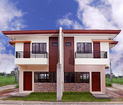 Modern beautiful duplex house design interior home design for 2 storey apartment floor plans philippines
