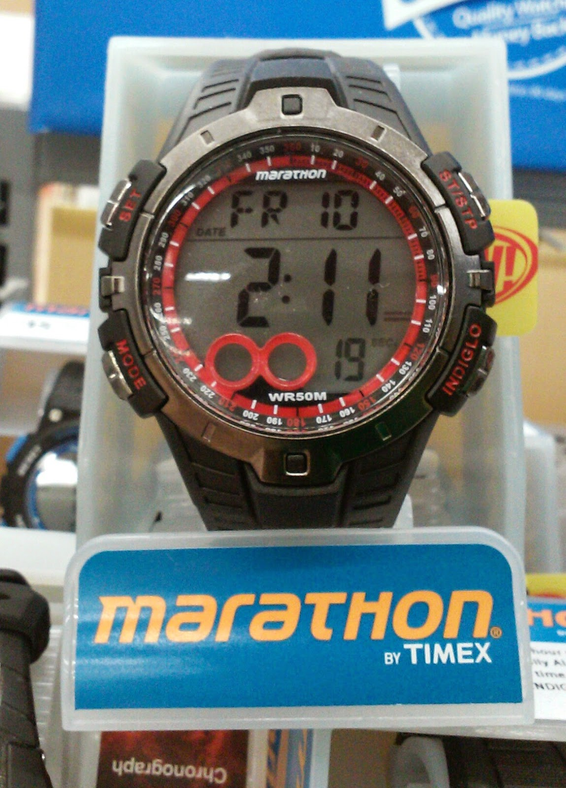 the dude new brand at walmart marathon by timex