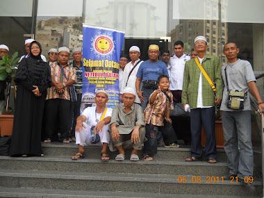 Depan Hotel Amjad Ajiat Mekkah