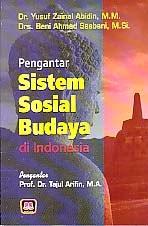 toko buku rahma: buku PENGANTAR SISTEM SOSIAL BUDAYA DI INDONESIA, pengarang yusuf zainal abidin, penerbit pustaka setia