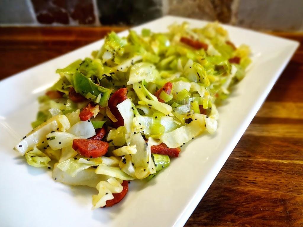 Cabbage & Chorizo