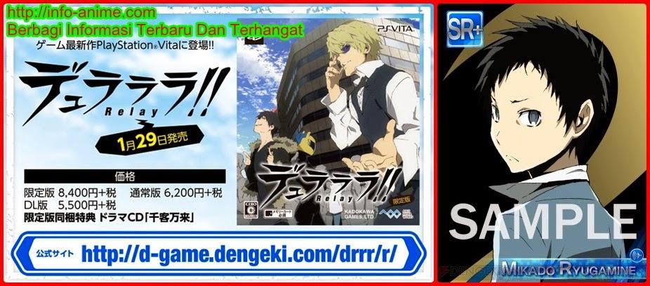 [ Info-Anime ] Game Smartphone Durarara X2 The Underside Diumumkan