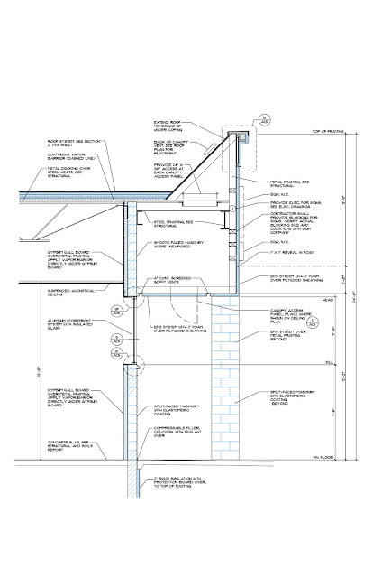 Jerold l dougal architect cold construction for Average exterior wall thickness