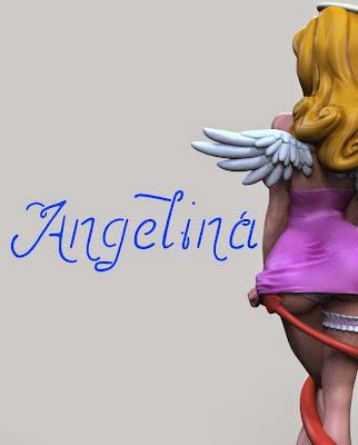 Arriva Angelina da Sacro Profano per la Infinite Statue