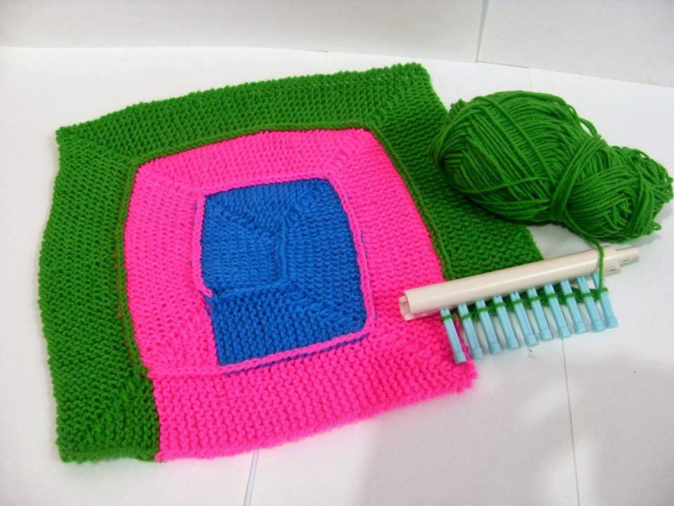 Crochetfun 10 Stitch Blanket On A Loom