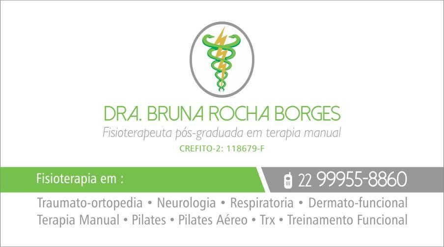 Dr.Bruna Rocha Borges (Fisioterapeuta)