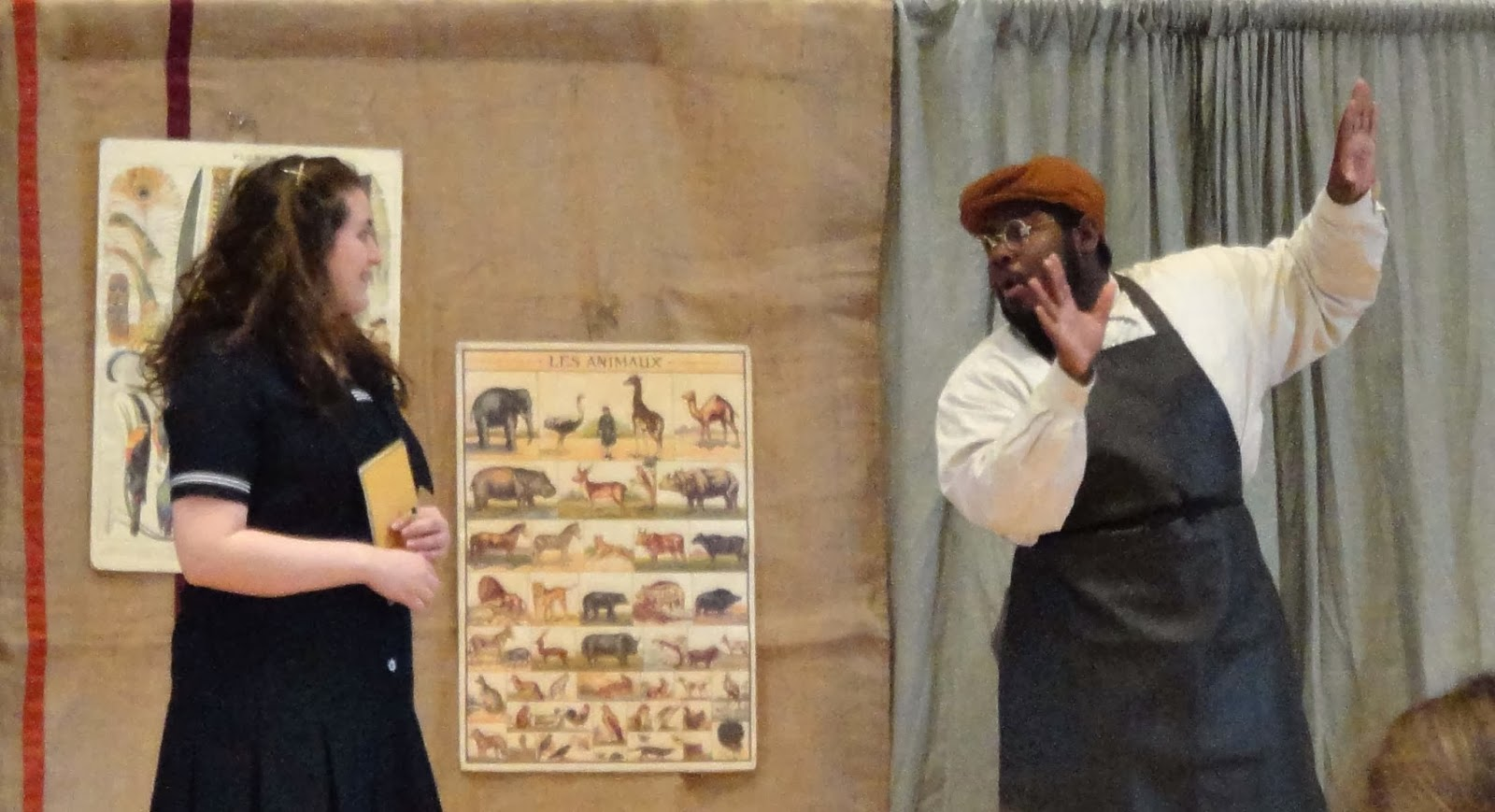 midway messenger george washington carver and friends play and dorothy kate royzcki listens to agricultural chemist george washington carver antony russell